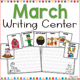 March Writing Center for Kindergarten and First Grade