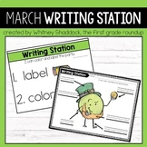 March Writing Centers for Kindergarten