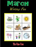 March Writing Fun (Tic-Tac-Toe)