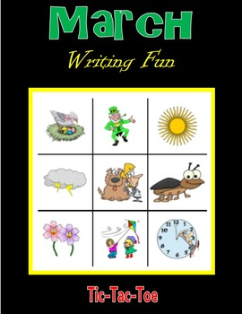 March Writing Fun (Tic-Tac-Toe)