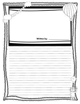 March NO PREP Writing (Graphic Organizers, Prompts, Lists, Lined Papers, Poems)