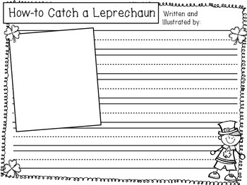 March Writing: How to Catch a Leprechaun