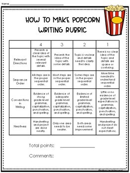 How To Writing- How to Make Popcorn
