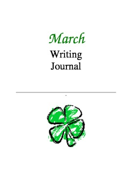 Writing Journal, March