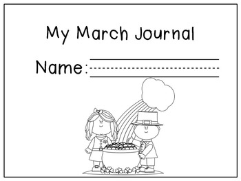 March Writing Prompts / March Journal