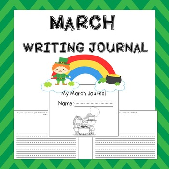 March Writing Activities / March Journal