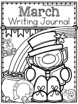 March Writing Journal {13 Fun Writing Prompts}