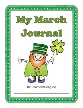 March Writing Journal