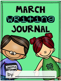 March Writing Journal {3 different levels}