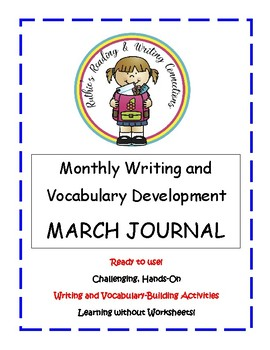 My March Writing Journal