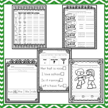March Writing Journal - Kindergarten