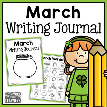 March Writing Journal Prompts