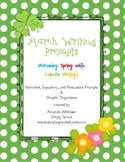 March Writing Journal - Welcoming Spring with Colorful Writing