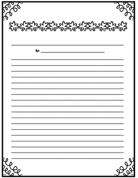 March Writing Menu with Graphic Organizers and Paper. Freebie Included!