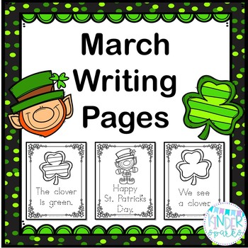 March Writing Packet