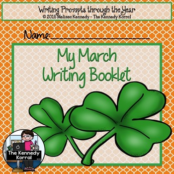 March Writing Prompts {23 Writing Prompts & Pictures to Color}