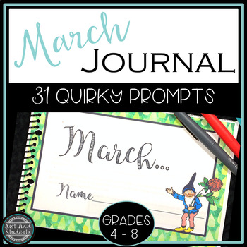 March Writing and Journal Prompts
