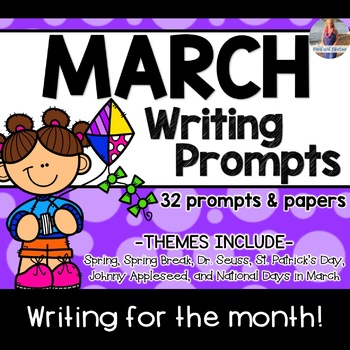 March Writing Prompts *30 prompts!*