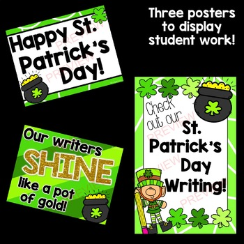St. Patrick's Day Writing Prompts *15 prompts!*