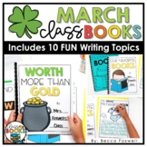 March Writing Prompts & Class Book Covers