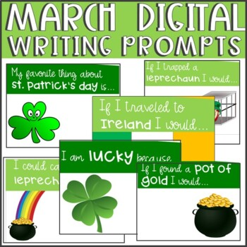 March Writing Prompts (Digital)