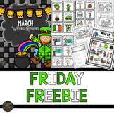 March Writing Prompts FREEBIE