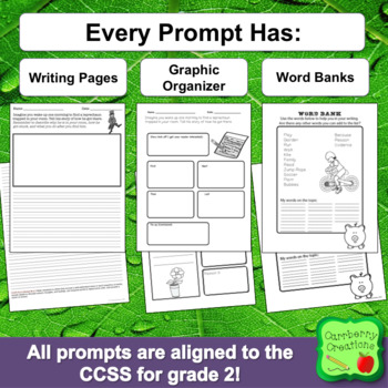 Writing Prompts 2nd Grade : March