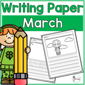 March Writing Prompts & Paper
