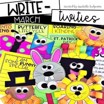 March Writing Prompts   St. Patrick's Day, Spring