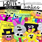 March Writing Prompts | St. Patrick's Day, Spring