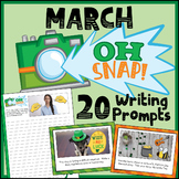 March Writing Prompts - St. Patrick's Day Writing Prompts - March Activities