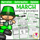 March Writing Prompts | Real-World and Draw & Write Format
