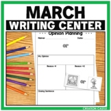 Spring Writing Center for March