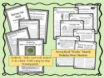 March Writing Story Starters