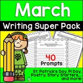 March Seasonal Writing Prompts