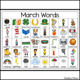 March Writing Words