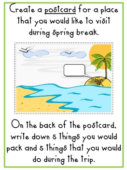 March Writing and Making Words
