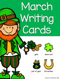 March Writing Topic Cards, Word Work, Story Starter Vocabu