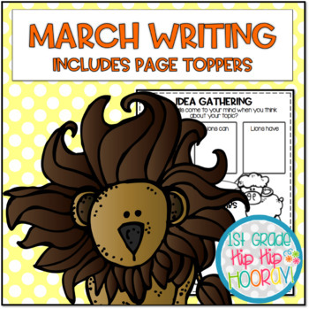 March Writing with Page Toppers...Simple Crafts and Writing Activities!