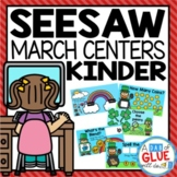 St. Patrick's Day and March Seesaw Activities for Kindergarten