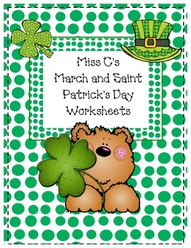 March and St. Patrick's Day Independent Work