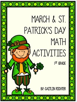 March Math Activity Pack - St. Patrick's Day