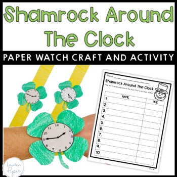 March and St. Patrick's Day Time Activity Packet