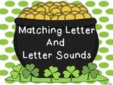March beginning letter sound matching center