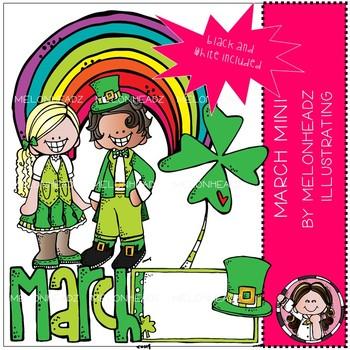 March melonheadz. Clip art mini clipart