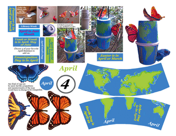 April craft for Earth Day ad Spring and more