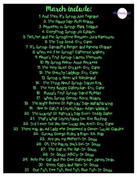 March favorites QR codes