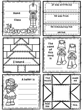 March (from Nutcracker) Quilt Worksheets