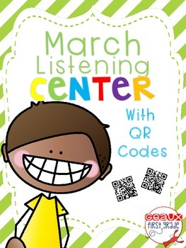 March iPad Digital Listening Center with QR Codes