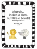 March in like a lion, out like a lamb craftivity